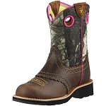 Youth Ariat Fatbaby™ Cowgirl Rough Brown/Camo