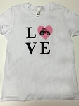 Pink Tractor Love Shirt - Youth