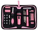 Built2Work Compact Pink Tractor Tool Kit
