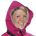 Uddertech Pink Waterproof Detachable Hood