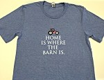 Pink Tractor Home is Where the Barn is Shirt