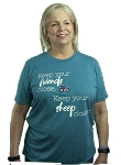 Keep your friends close. Keep your sheep closer t-shirt-teal