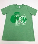 Farm Raised Youth short sleeve t-shirt green