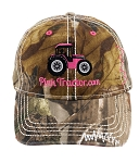 Pink Tractor RealTree AP® Camo Hat