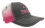 Pink Tractor  Cap America®- Gray/Pink Hat