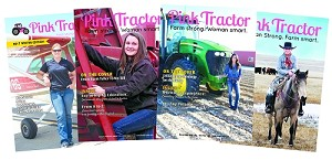 Magazine Subscription: Hard Copy Pink Tractor